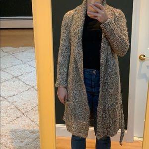 Loft sweater duster